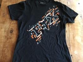 Fox  T-Shirt  Black Orange Large Motocross Moro-x Mint Condition Racing L - $10.25