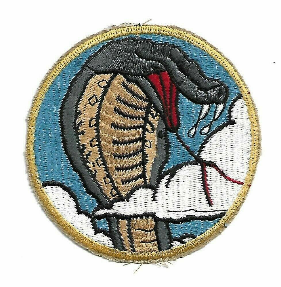 Primary image for USAF 39th TFS Fighter Sqdn pilot patch F-4E Phantom II Wild Weasel George AFB