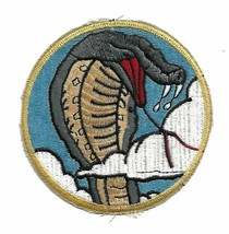 USAF 39th TFS Fighter Sqdn pilot patch F-4E Phantom II Wild Weasel Georg... - $11.87