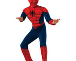 Spider Man Deluxe Boys Child Kids Youth Muscle Chest Costume