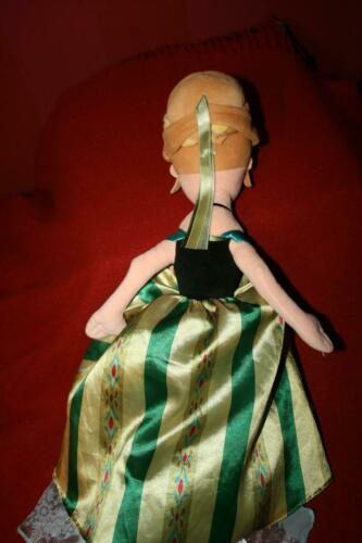 Walt Disney Parks Frozen Anna Elsa Flip 2 in 1 Topsy Turvy Reversible Plush Doll