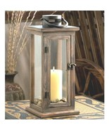 10 Rustic Wood Lantern Large Candleholder Wedding Centerpieces - $195.87