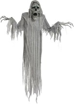 "Animated Hanging Phantom Halloween Decoration Prop 72"" Decor Motion Sensor - $47.89"