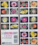 Cactus Flowers- 2018 USPS 20 Forever Stamps Sheet - $14.95