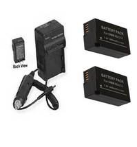 2X Batteries + Charger for Panasonic DC-G95, DC-G95MK, DC-G95K, - $38.69