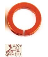 ODI ORANGE BMX-MTB BICYCLE GRIP LOCK JAW CLAMPS W/ SNAP CAPS--SET OF 4 - $15.11