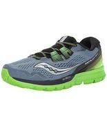 Saucony Men's Zealot ISO 3 Running Shoe S20369-1, Grey/Black/Slime Size ... - $53.46