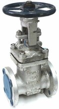 "POWELL 2"" FLANGED GATE VALVE API 600, B16.34 CL150, 2.00 1503 WCB, CR13, B-1627"