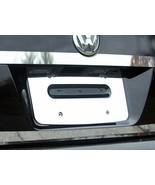 05-10 VOLKSWAGEN JETTA 4dr QAA Stainless 1pcs License Plate Bezel LP25665 - $43.99