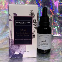 New In Box edible beauty No. 3 Exotic Goddess Ageless Serum 1Oz CLEAN BEAUTY NWT
