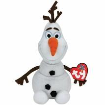 """Olaf Ty Beanie Disney Plush Frozen Beanie Buddy Snowman 10"""" Buddy New - $13.99"""