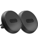 Mpow Universal Magnetic Air Vent Car Holder Carbon Fiber Cell Phone Stand - $14.50