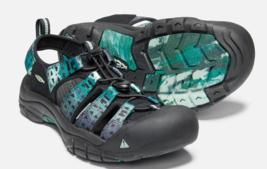 Keen Newport Retro Talla 9M (D) Eu 42 Hombre Deporte Sandalias Zapatos Negro Zen