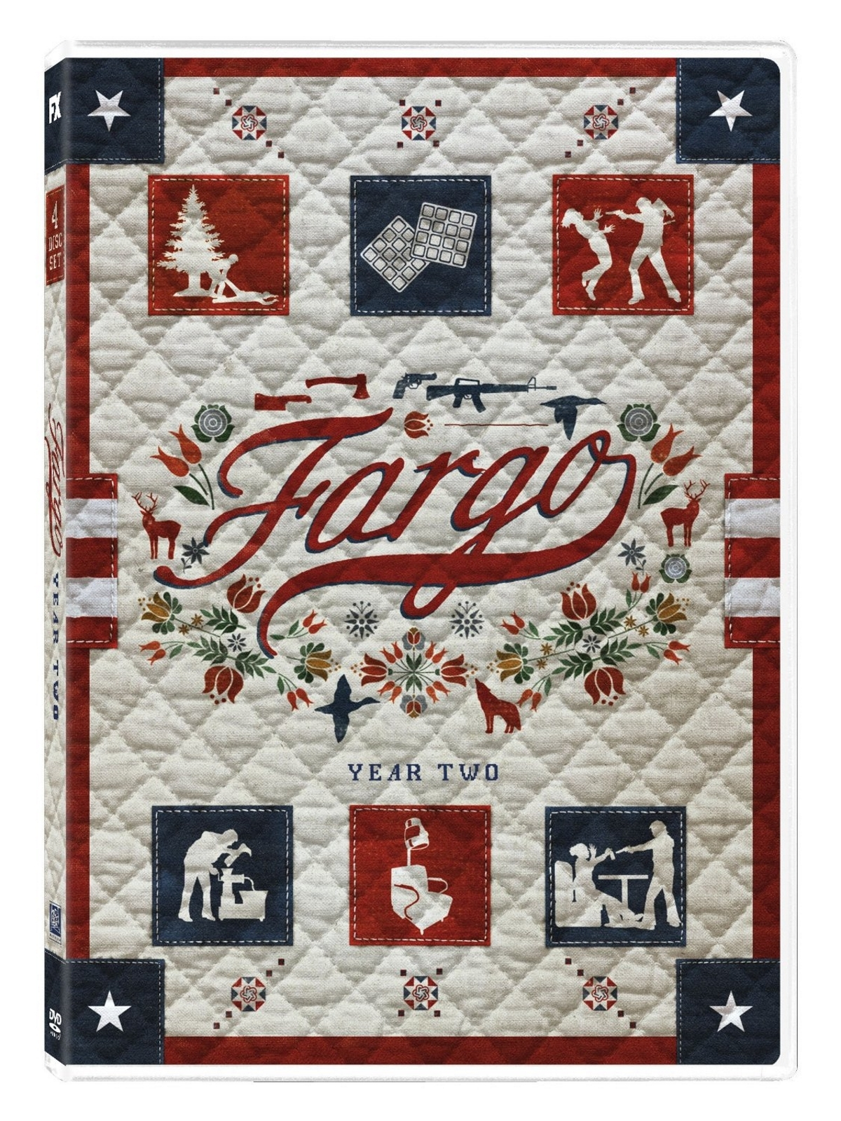 Fargo second season two 2  dvd  2016 4 disc  dunst  danson