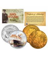 "RMS Titanic "" 100TH Jubiläum "" Jfk Halbdollar & 1910 Großbritannien Penny - $21.54"