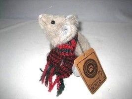 "Boyds Bears ""JOY CHRISMOUSE"" 6"" Plush Mouse- #9165-06 - NWT- 1993 -Retired - $49.99"