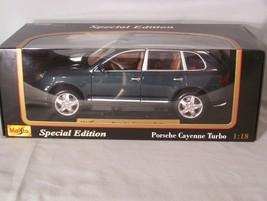 Porsche Cayenne Turbo 1:18 scale diecast Maisto Special Edition - $45.08