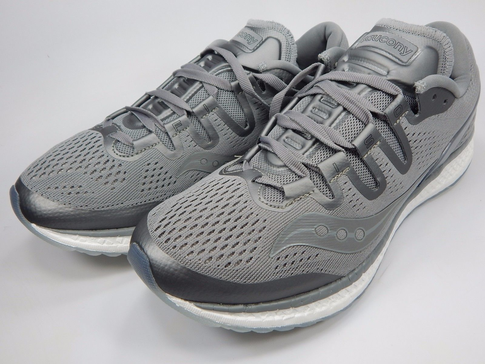 Saucony Freedom ISO Men's Running Shoes Size US 9 M (D) EU 42.5 Grey S20355-51
