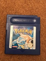 Pokemon Blue Version Nintendo UK Game Boy Colour 1999 - $29.99