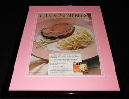 1987 Stouffer's Fettucini Alfredo Framed 11x14 ORIGINAL Vintage Advertis... - $32.36