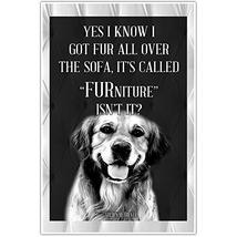 Golden Retriever Dog Lover Wall Art Poster - $22.28