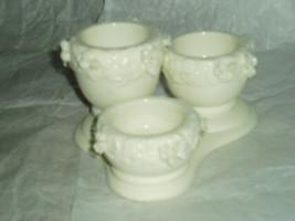 PartyLite Rose Garden Urn Tealight Trio Party Lite - $15.99