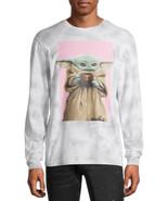 Star Wars Mandalorian Baby Yoda Bombard Wash Men's Big Men's Graphic T-s... - $19.62