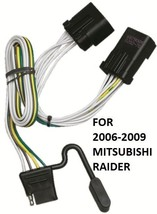2006-2009 MITSUBISHI RAIDER TRAILER HITCH WIRING KIT HARNESS PLUG & PLAY... - $27.57