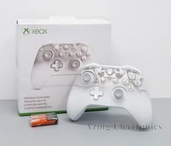 Official Microsoft Xbox One Wireless Controller Phantom White Edition WL3-00120 - $79.99