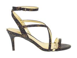 Sandalo con tacco GUESS FL6NH4 in ecopelle marrone - Scarpe Donna - $106.66