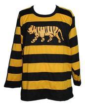 Custom Name # Hamilton Tigers Retro Hockey Jersey Sewn New Any Size image 1