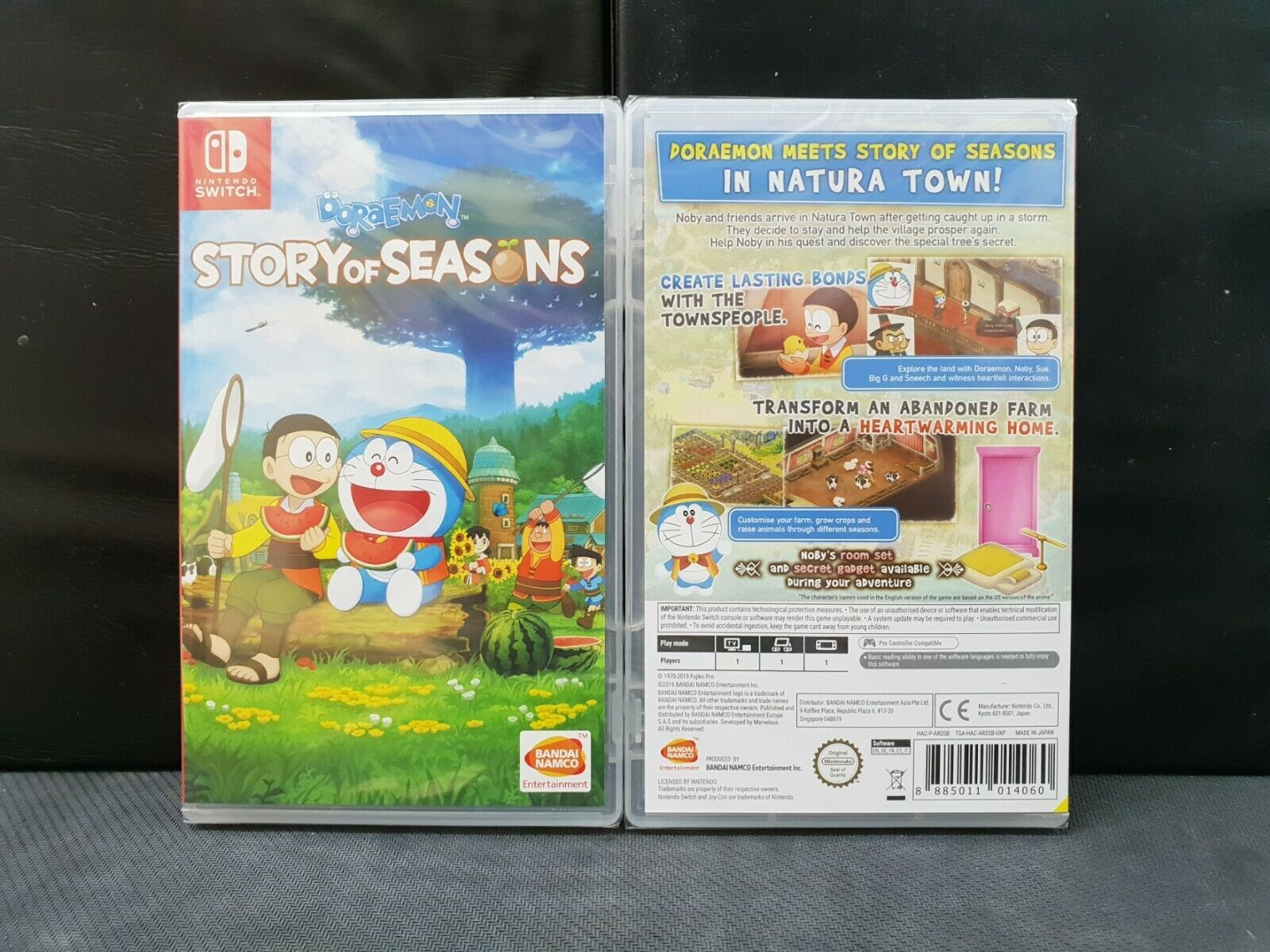 (ASIA ENGLISH VERSION) Nintendo Switch Doraemon Story of Seasons (Brand New)