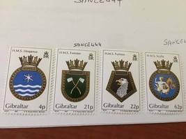 Gibraltar Naval arms 1991 mnh   stamps - $5.95