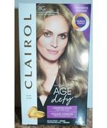 NIB Clairol 8G Medium Golden Blonde Age Defy Luminous Color 100% Gray Co... - $11.48