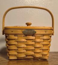 Longaberger Memories 2000 Edition Basket with Lid - $36.75