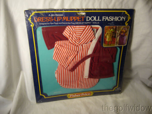 Dress Up Muppet Doll Fashion no. 889 Kermit's Sleepwear New in Package 1981