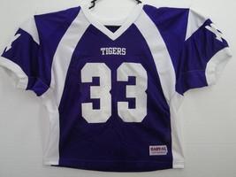 Realistic Football Jersey Mens Size Adult Xl Brand Hav-al Athletic 100% Nylon Tigers #82 Football-other Fan Apparel & Souvenirs