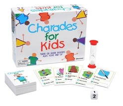 Charades for Kids Board Game 3 or more players, ages 4 and up Pressman T... - $342,81 MXN