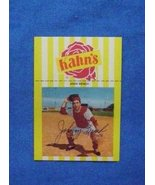 1968 Kahn's Wieners Baseball #8 Johnny Bench [Cincinnati Reds] RC-Repro - $4.00