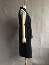 100% AUTHENTIC LOEWE LONG BLACK SLEEVELESS EVENING DRESS  image 3