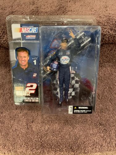 """#2 RUSTY WALLACE MILLER LITE 6"""" FIGURE 2003 BY MCFARLANE ACTION NEW"""