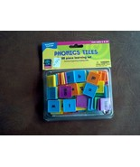 Learning Playground  phonics tiles set educational reading play - $19.80