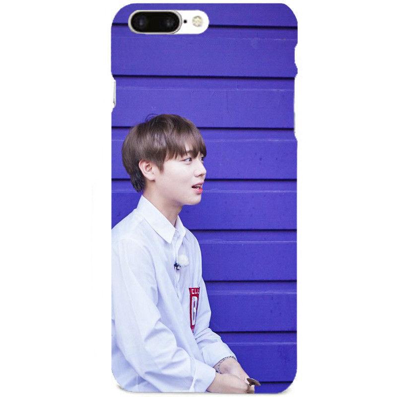 KPOP WANNA ONE Phone Case PARK JI HOON LAI KUAN LIN Kang Daniel Cellphone Cover