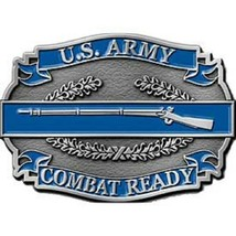 United States American Army C1B II Combat Ready Belt Buckle - $18.76