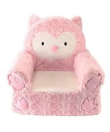 Children\'s Foam Chair Polyester Large Size Washable Cover Bedroom Owl P... - $62.26