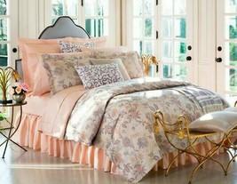 "Sferra ""Prina 3414"" 3pc F/QUEEN Duvet Cover Floral Jacquard Pearl Bnip - $493.75"