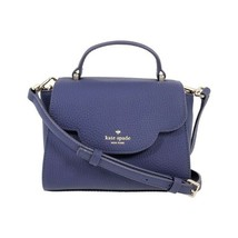 NWT KATE SPADE NEW YORK Leewood Place Mini Makayla Crossbody Blue Purse ... - $170.28