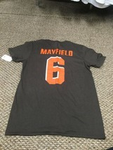 NWT Cleveland Browns Baker Mayfield Jersey T-Shirt Small New With Tags!!! - $17.81