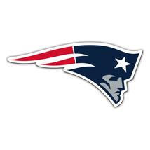 NFL NIP 12 INCH AUTO MAGNET NEW ENGLAND PATRIOTS CURRENT LOGO - €16,78 EUR