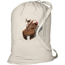 3D SQUIRREL New Laundry Travel Camp Duffel Tote Gifts College Events School - $20.99